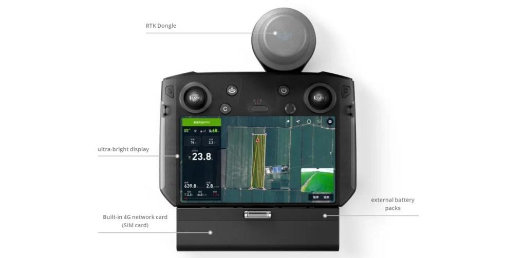 DJI-T20-Spraying-Drone-remote-controller